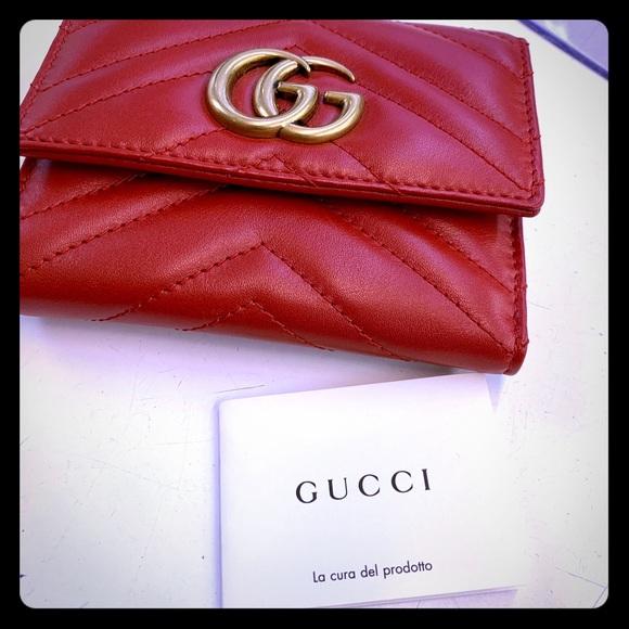 5debbf7c022 Gucci Handbags - GG Marmont matelassé wallet
